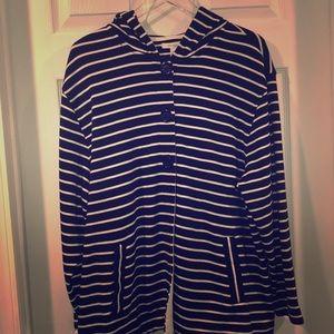 Dressbarn Black with white stripes Sz14/16